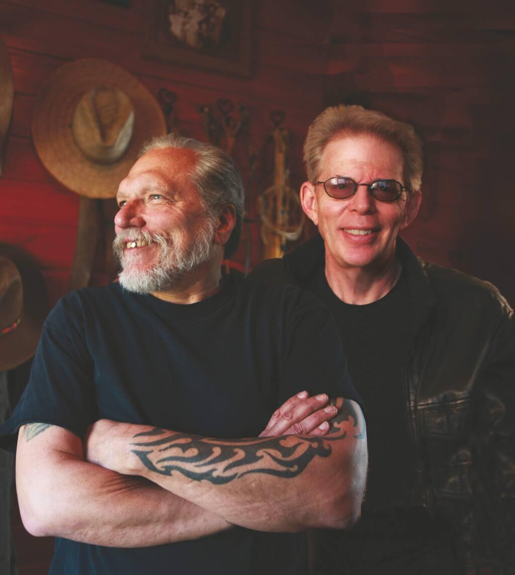 Jack Casady and Jorma Kaukonen of Hot Tuna (BARRY BERENSON)