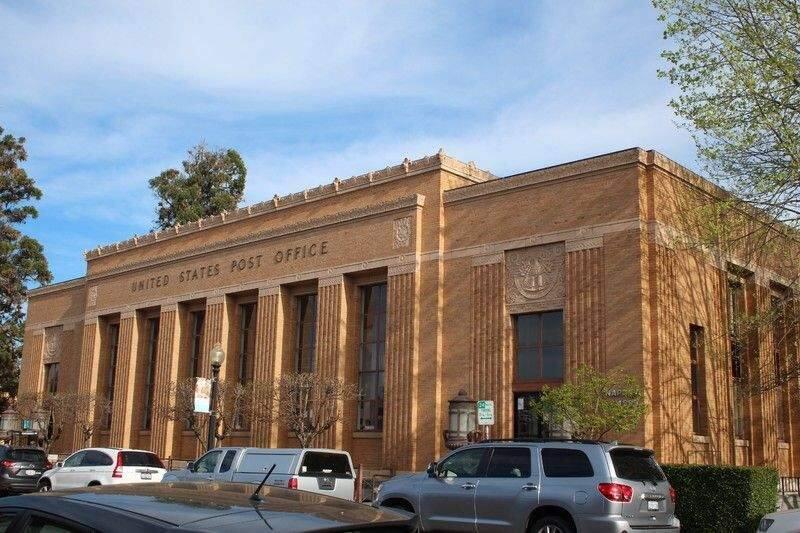 Downtown Napaís historic Franklin Station post office. (Explore Napa)