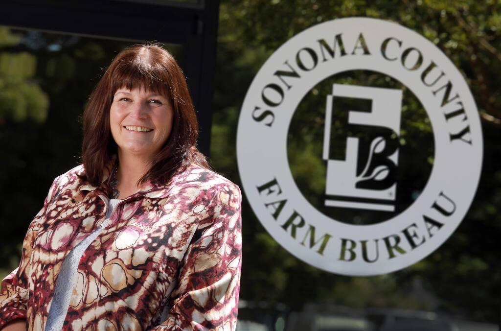 Sonoma County Farm Bureau Executive Director Tawny Tesconi (John Burgess / The Press Democrat)
