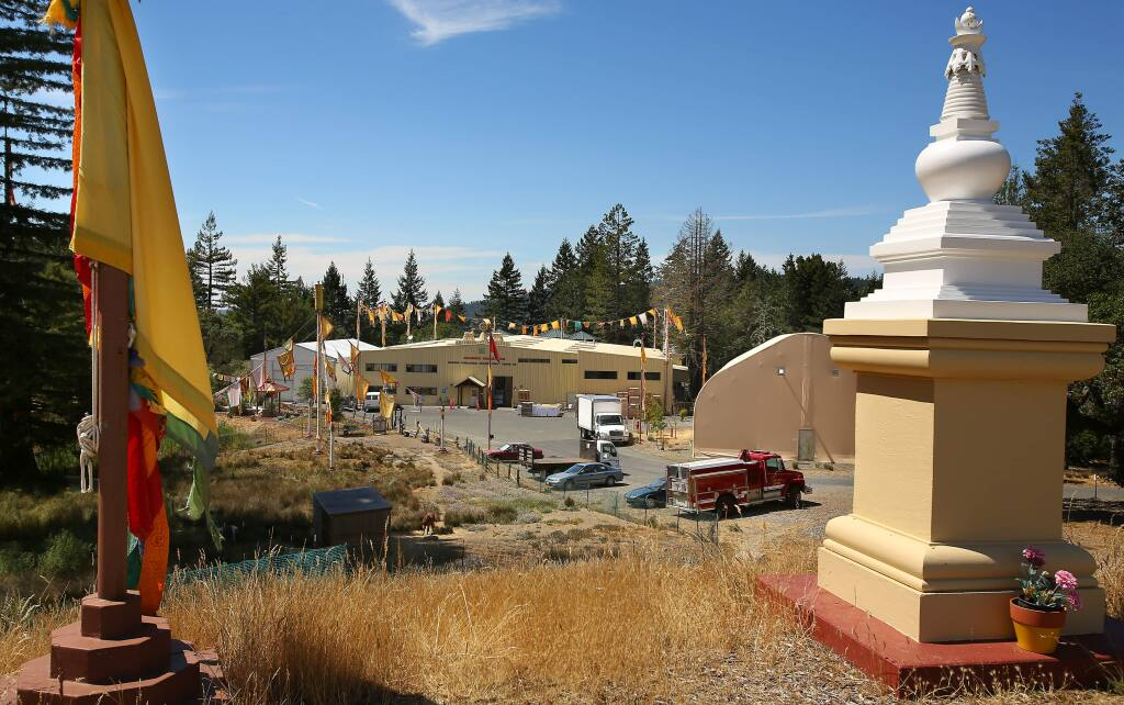 The Dharma Publishing facility at the Ratna Ling Retreat Center in Cazadero on Monday, July 14, 2014. (CHRISTOPHER CHUNG/ PD FILE)
