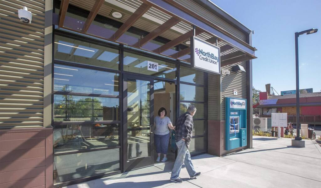 The North Bay Credit Union in the Vailetti Plaza in the Springs opened for business on Monday, October 29, 2018. (Photo by Robbi Pengelly/Index-Tribune)