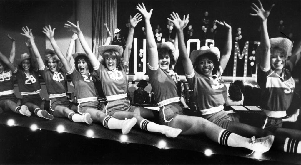 Opening number for the 1981 California Junior Miss Pageant. (Mark Aronoff/ The Press Democrat)