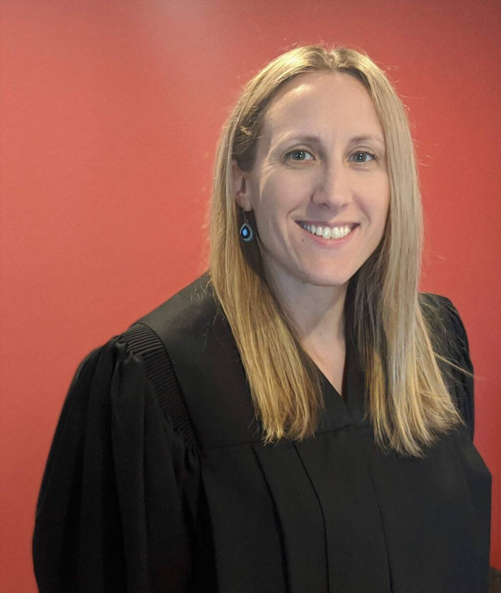 Katie Boriolo, 38, workers' compensation judge, state of California, is a 2020 Forty Under 40 winner. (courtesy photo)