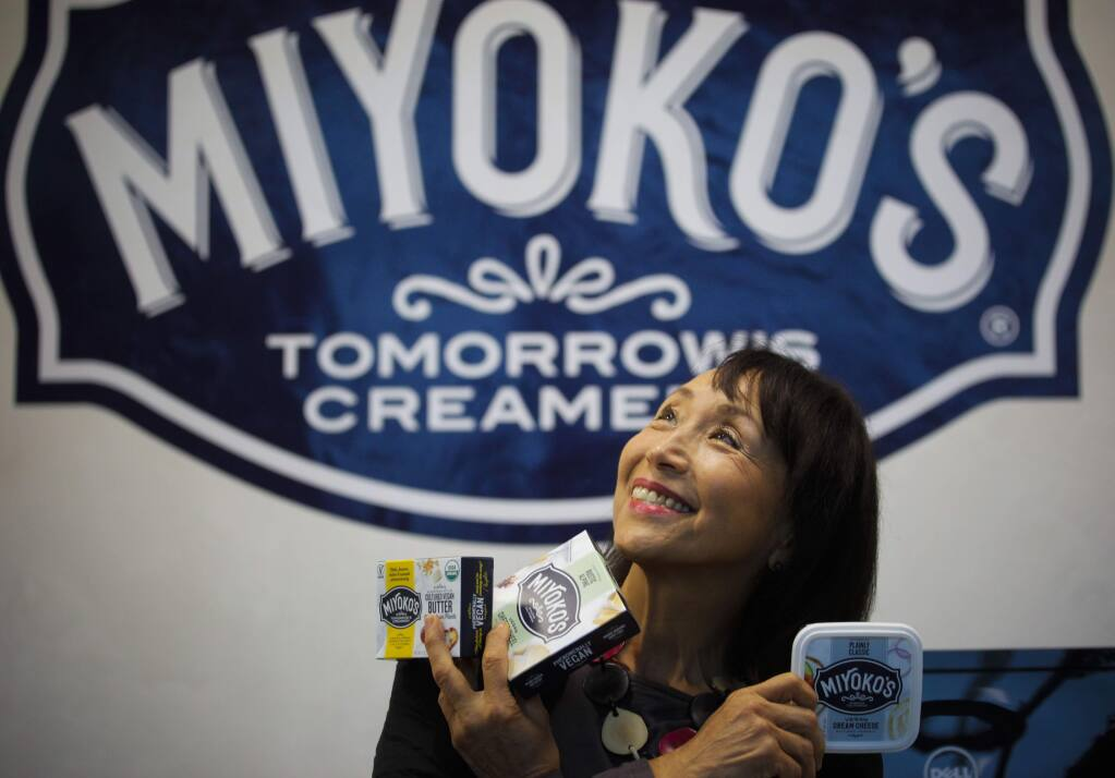 Miyoko's production plant and headquarters in Petaluma (CRISTINA PASCUAL/ARGUS-COURIER STAFF)
