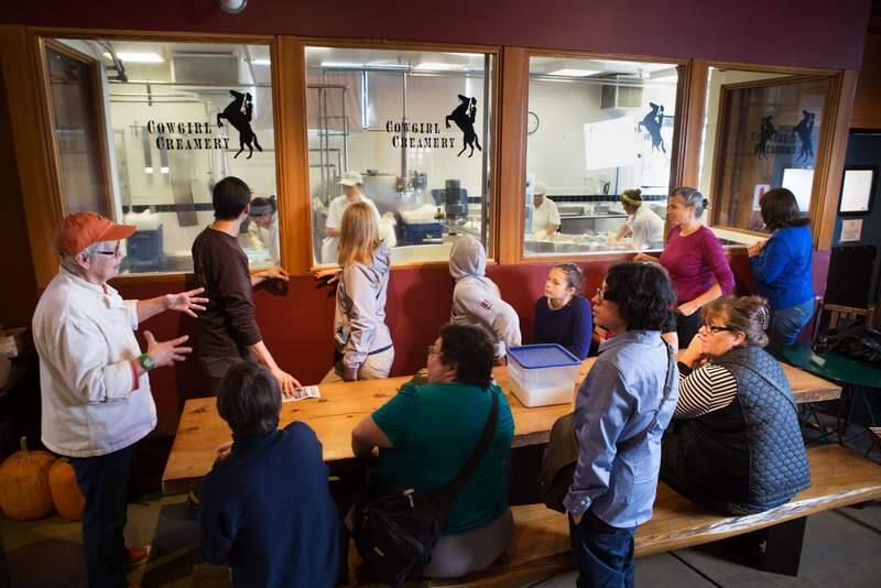 Eating and Drinking - Artisan Cheesemaker: Cowgirl Creamery