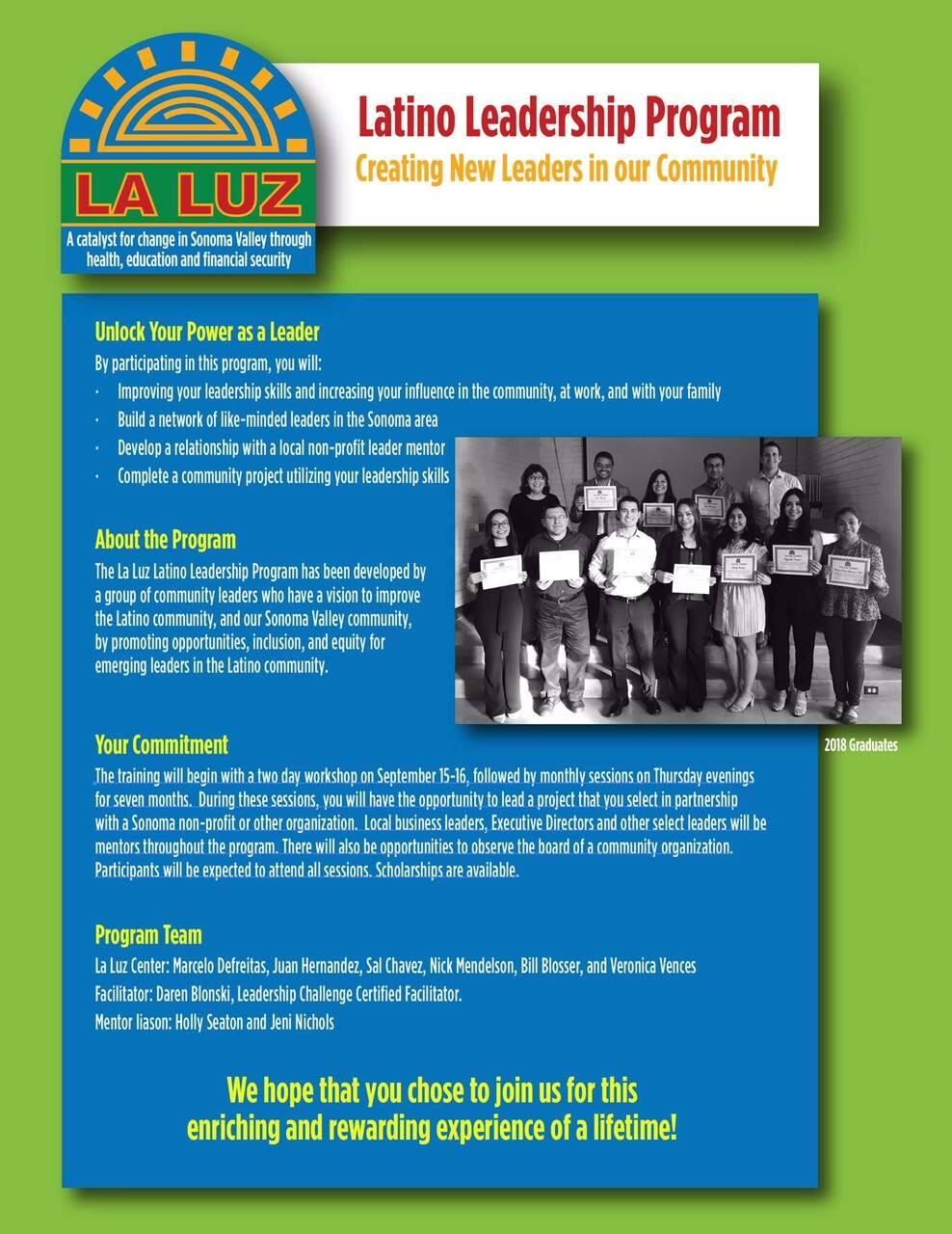 The program flyer.