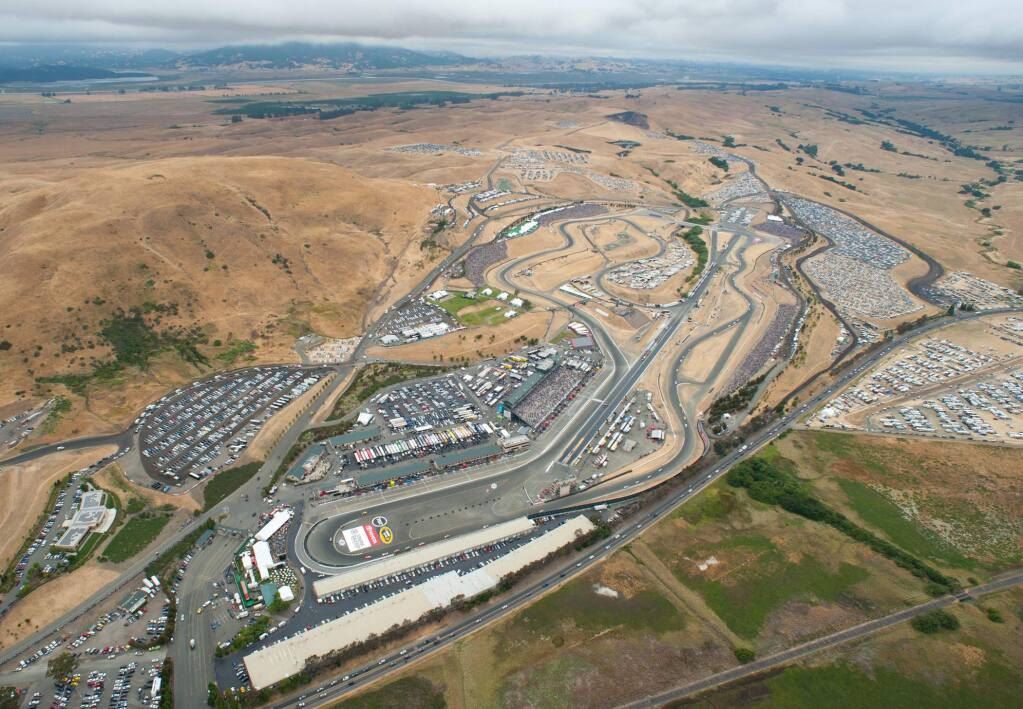 Sonoma Raceway in March 2014 unveiled plans to host more nonracing special and entertainment events at the 1,600-acre south Sonoma County property. (Sonoma Raceway)