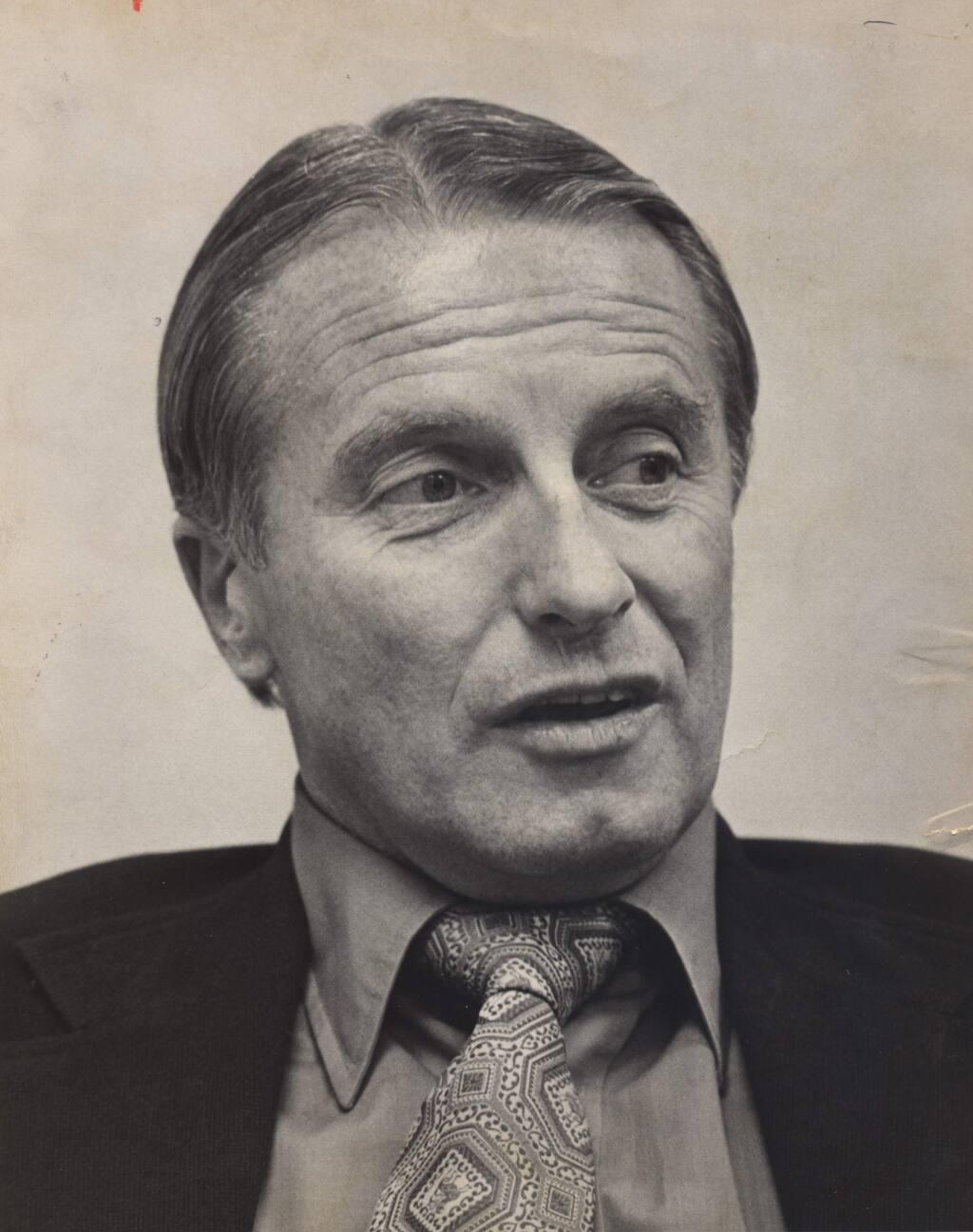 Brad Lundborg (Press Democrat files, 1976)
