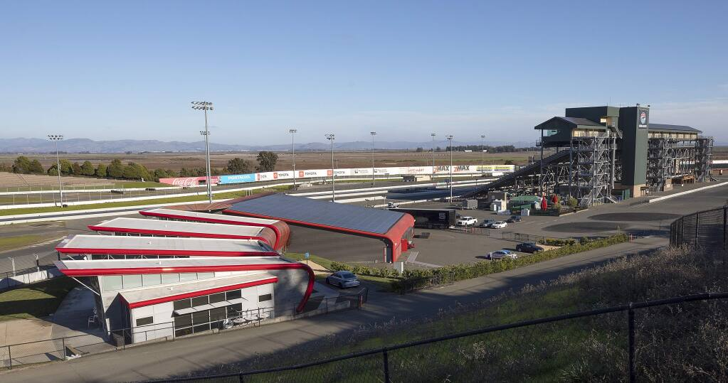 The new Sears Point Racing Experience, left, will continue the 46-year tradition of hosting an on-site racing school. (photo by John Burgess/The Press Democrat)