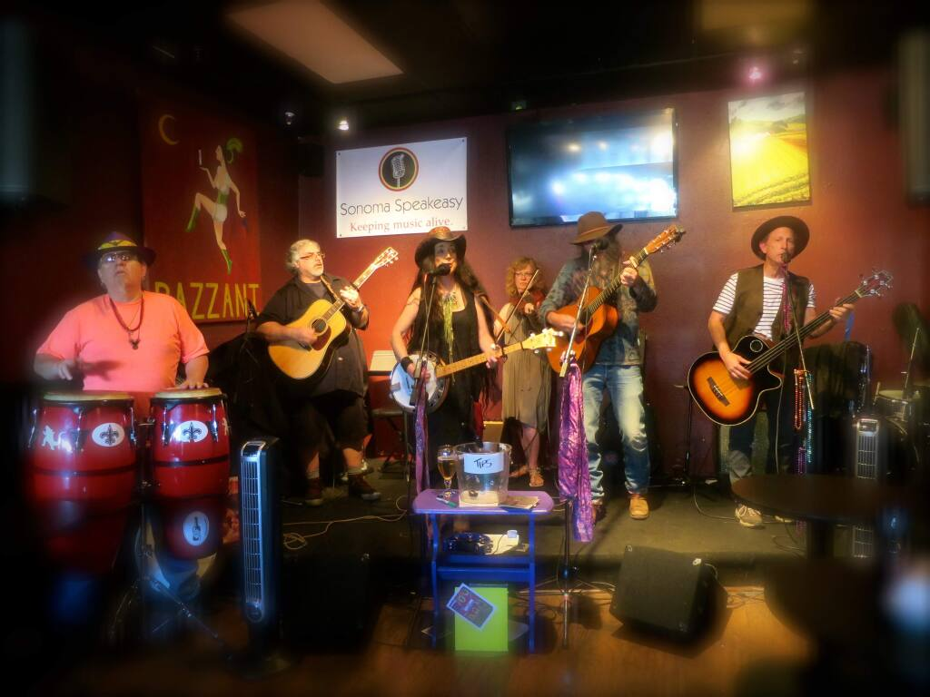 Wildflower Weed will play for an event in support of a medical cannabis dispensary in Sonoma on Friday, Sept. 1, at the air-conditioned Springs Community Hall (formerly the Grange), 18627 Highway 12, from 6:30 to 10 p.m.