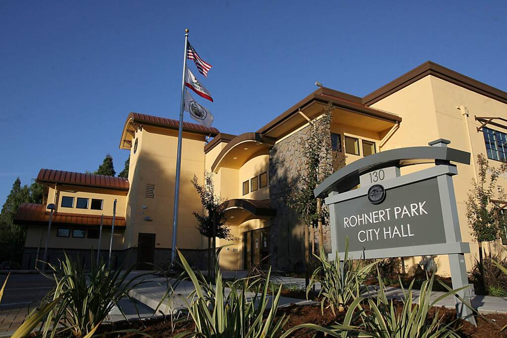 Rohnert Park City Hall (PD FILE)