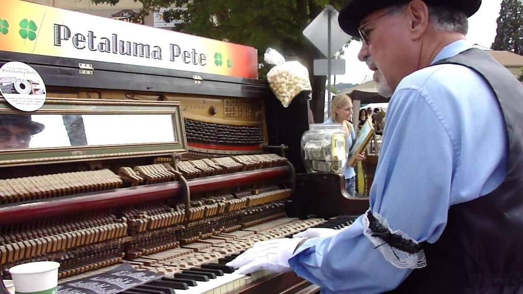 Petaluma Pete plays in Petaluma.