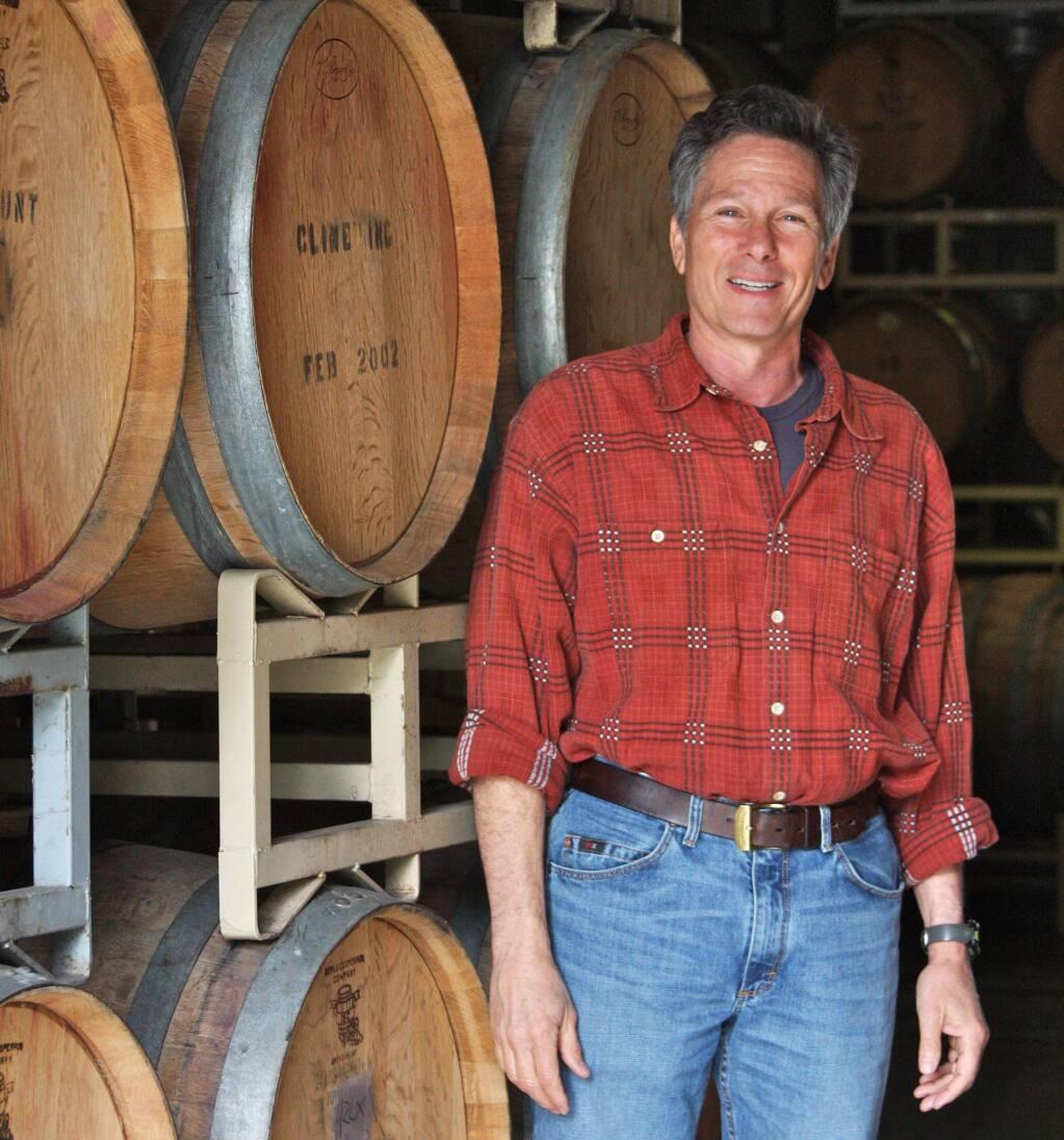 Cline Winemaker Charlie Tsegeletos