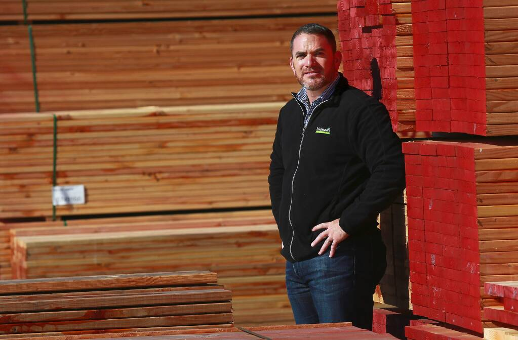 Barry Friedman is the CEO and president of Friedman's Home Improvement, based in Santa Rosa. (John Burgess / The Press Democrat)