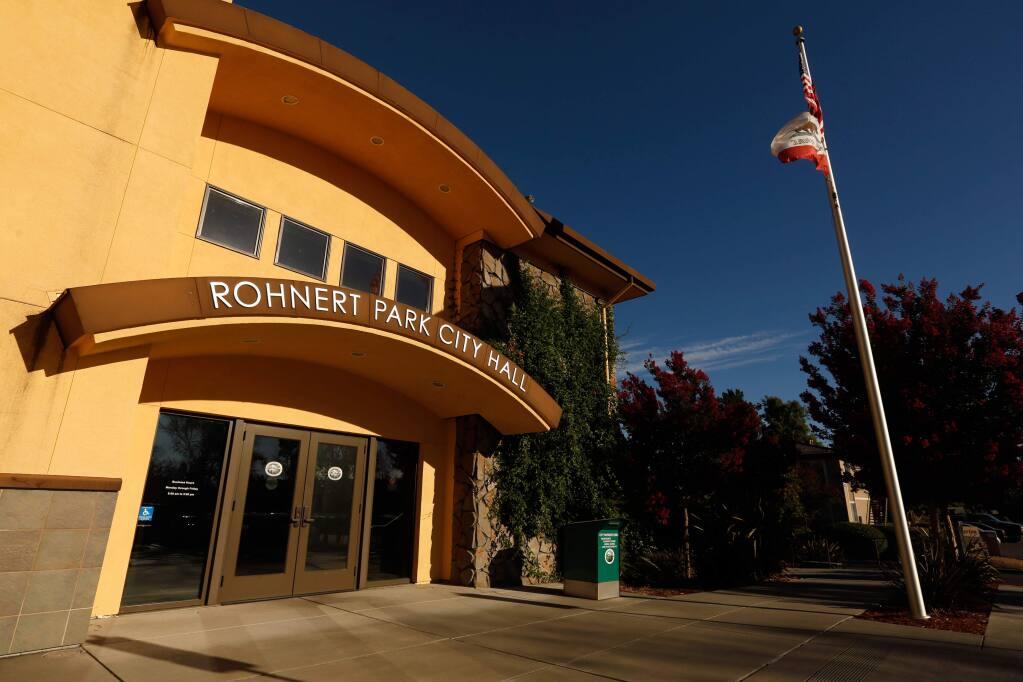 Rohnert Park City Hall (ALVIN JORNADA/ PD)