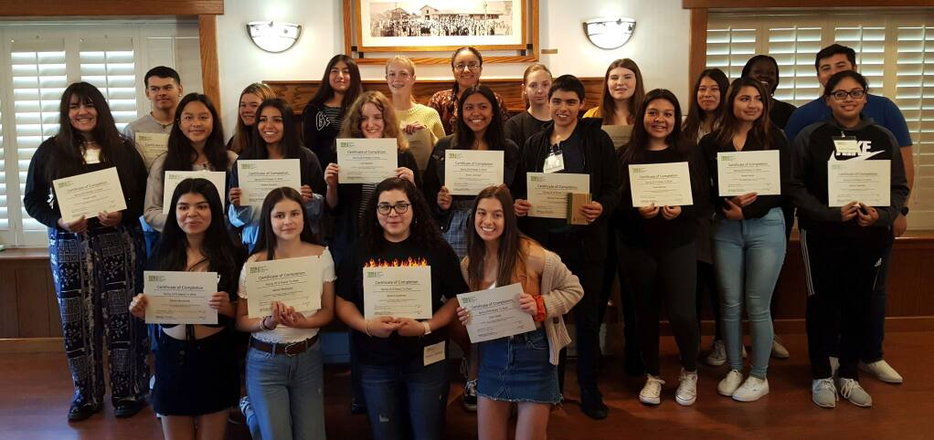 Teens Services' largest Ready to Work cohort to date - 32 teens from SVHS and Creekside.
