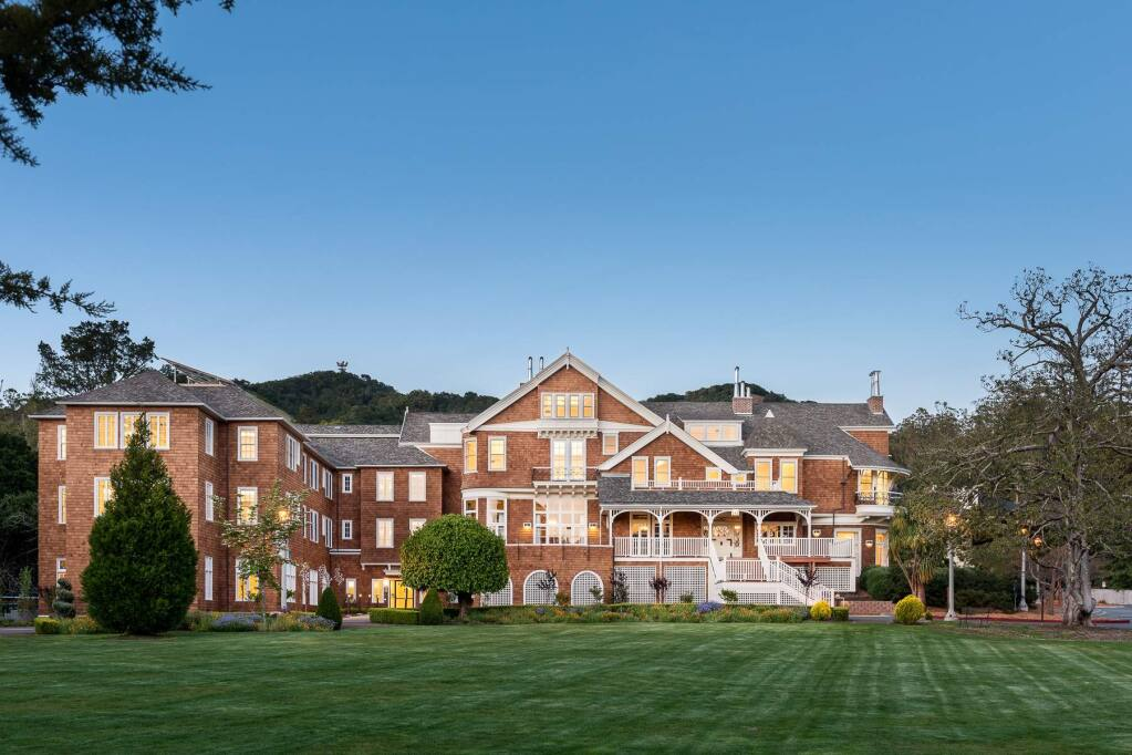 The renovated Meadowlands mansion on the Dominican University campus in San Rafael, completed in April 2015, is now home for the departments of Nursing and Occupational Therapy and for the Public Health program. (Patrik Argast)