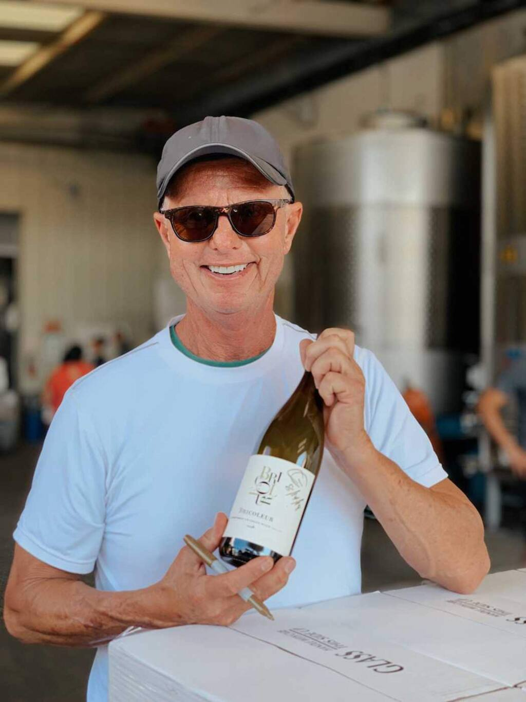 Cary Gott is the fourth generation in a family of California winemakers. Now Gott consults for wineries such as Davis Estates and Lawer Estates in Calistoga and makes wine at Bricoleur Vineyards. (bricoleurvineyards.com)