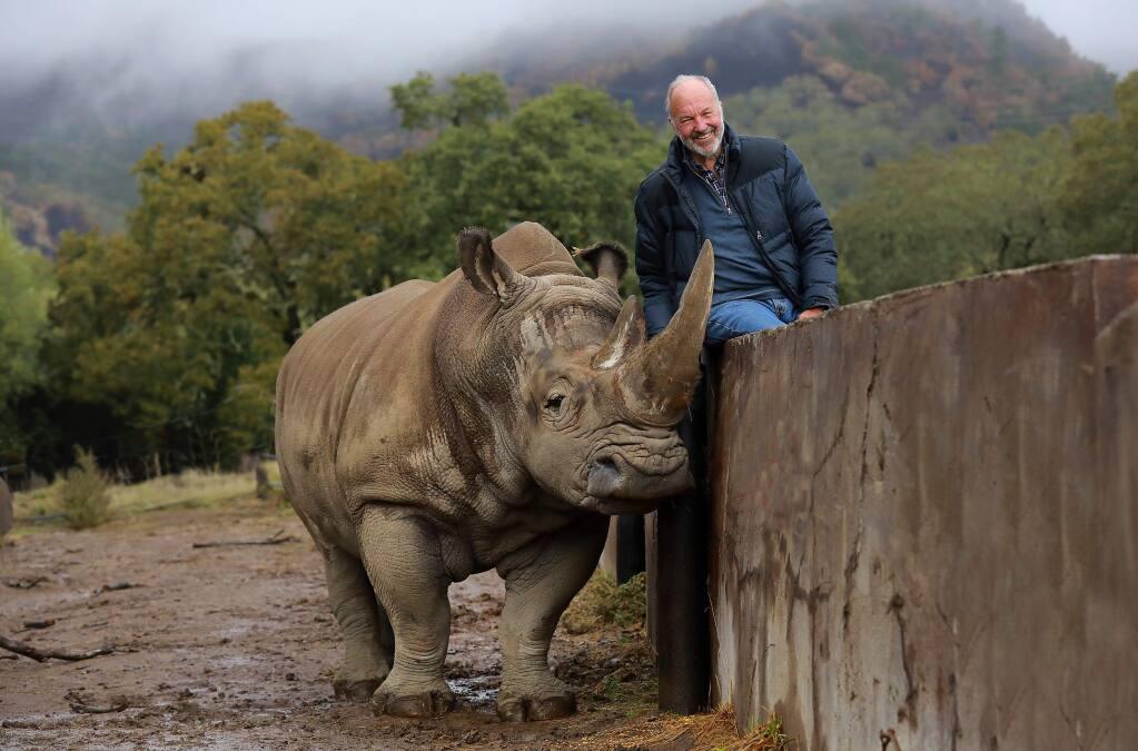 Safari West owner Peter Lang. (photo by John Burgess/The Press Democrat)