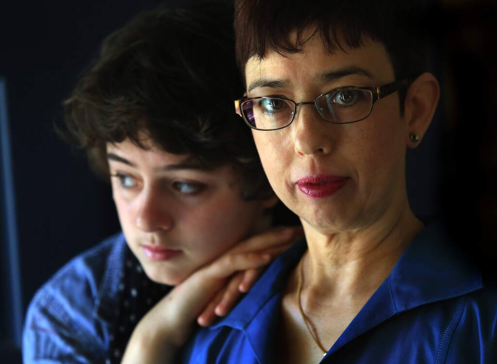 Patty O'Reilly and her daughter Siobhan are advocates for restorative justice after a drunken and enraged driver killed their husband and father in 2004. (Photo by John Burgess/The Press Democrat) File photo.
