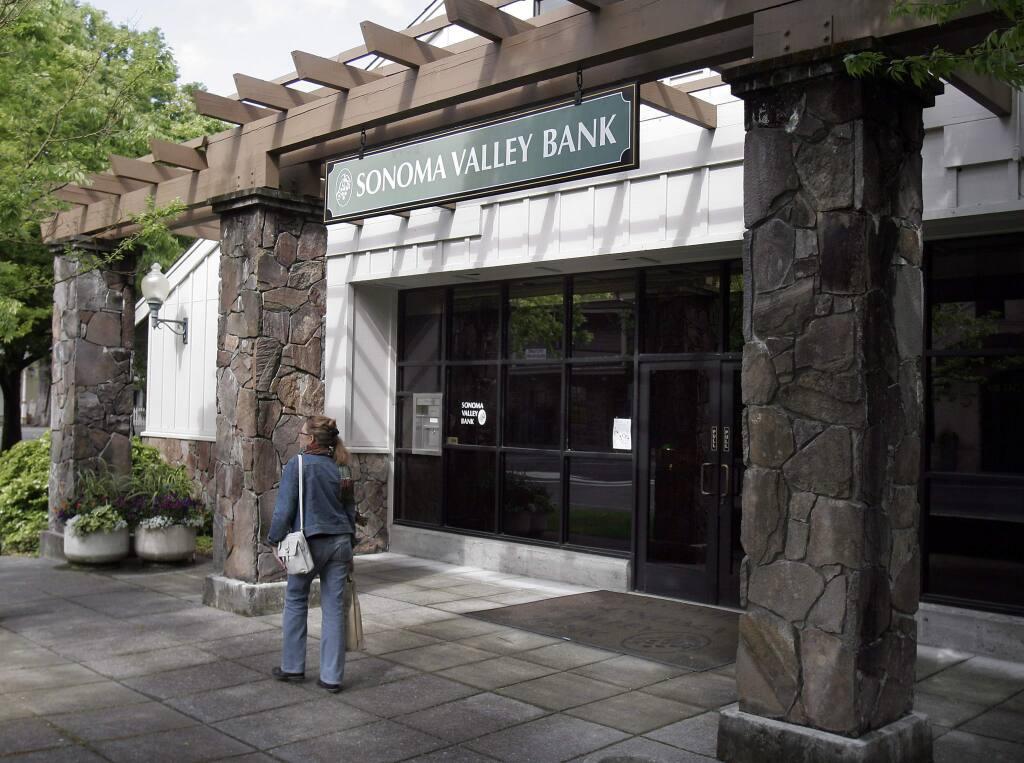 Glen Ellen branch of the Sonoma Valley Bank (PD FILE, 2011)
