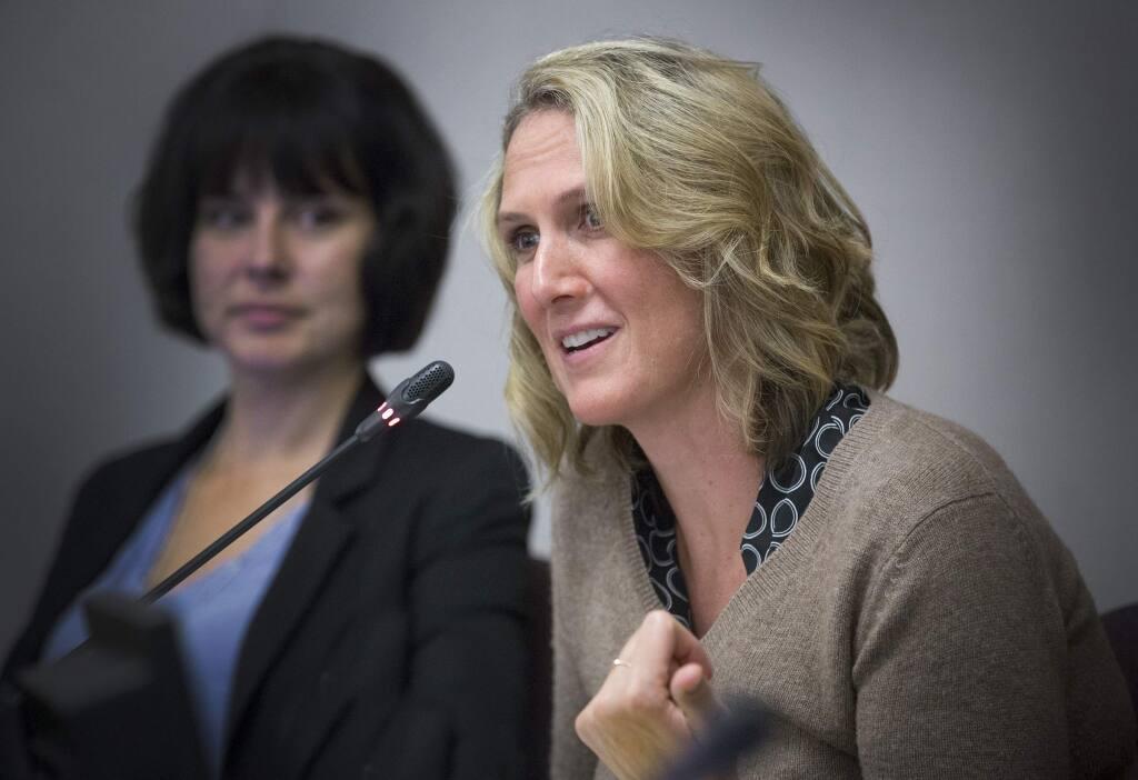 Mayor Amy Harrington at the City Council Meeting on Monday, Jan. 14, 2019.(Photo by Robbi Pengelly/Index-Tribune)