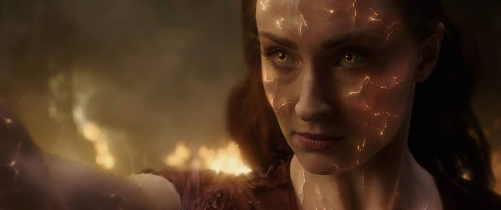 Michael Fassbender stars as as Erik Lehnsherr / Magneto in 'Dark Phoenix,' in which the X-Men face their most formidable and powerful foe: one of their own, Jean Grey, who is nearly killed when she is hit by a mysterious cosmic force while on a mission. Once she returns home, this force not only makes her infinitely more powerful, but far more unstable. (20th Century Fox)