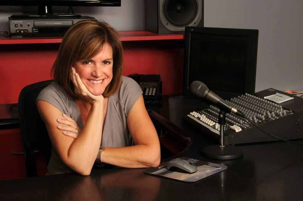 Samantha Paris, author of 'Finding the Bunny,' a memoir of her life and adventures as a professional voice actor.