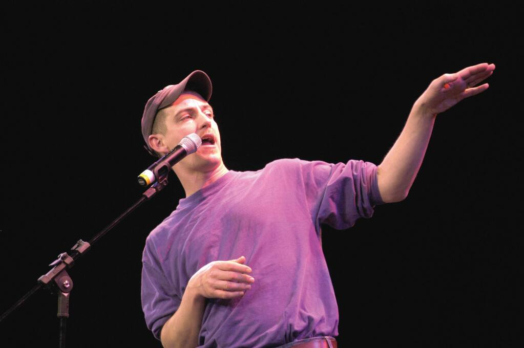 Bil Lepp will perform at The Mystic Theatre Saturday. (Photo courtesy of leppstorytelling.com)