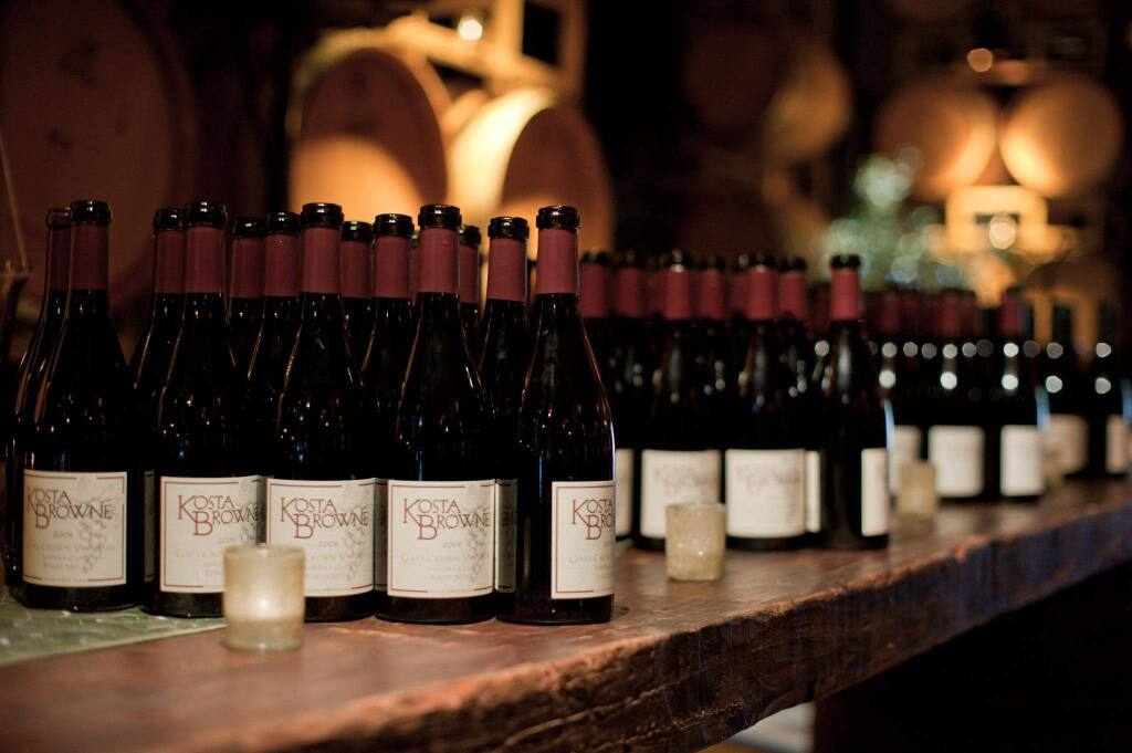 Kosta Browne winery (KOSTA BROWNE WINERY/ FACEBOOK)