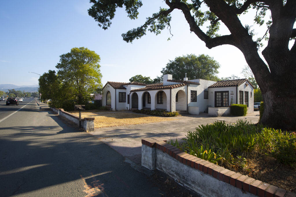 The Evelyn L. Montaldo house on Highway 12,  which DeNova homes is eyeing for a  56-unit residential development. Photo taken on Monday, Sept. 6, 2021. (Photo by Robbi Pengelly/Index-Tribune)