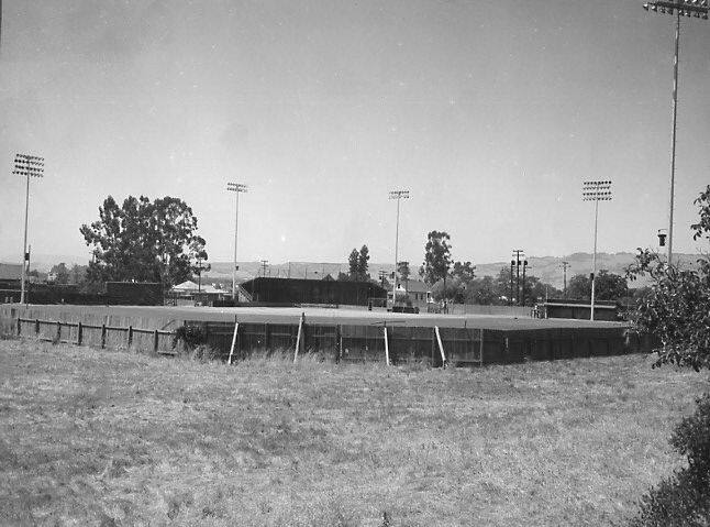 Shot taken from northeast of Arnold Field with original fence, right after it opened. (I-T archive)