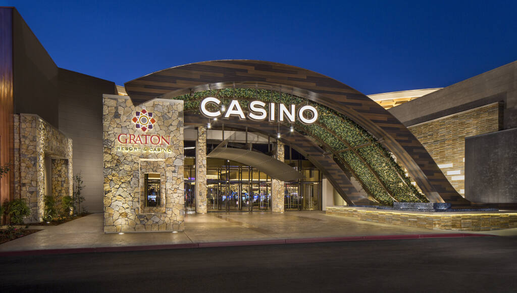 Graton Resort & Casino in Rohnert Park reopened on Thursday, June 18, 2020, after being closed since mid-March under shelter-at-home orders.  (Courtesy Photo)