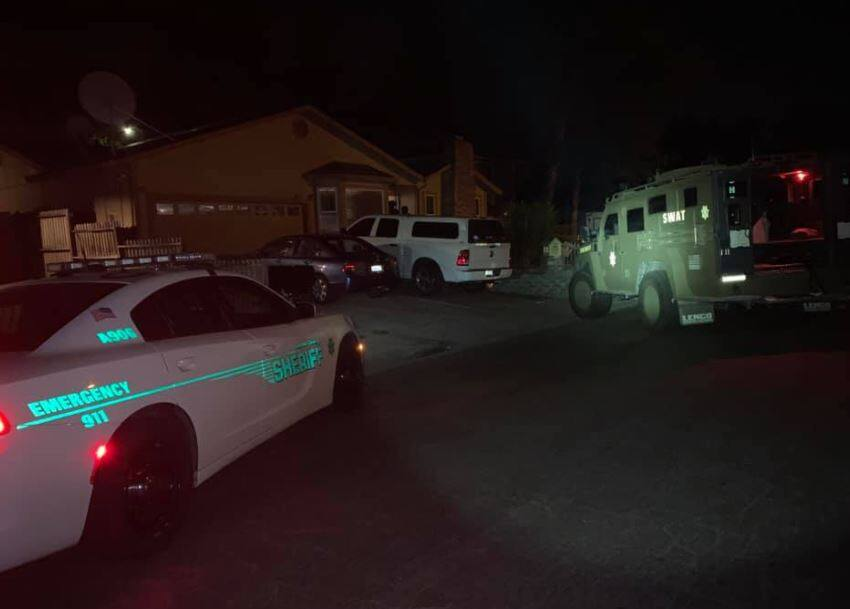 Sonoma County Sheriff's SWAT team along with the Rohnert Park Department of Public Safety served a search warrant related to a homicide last week in Rohnert Park, Wednesday, June 9, 2021, leading to the arrest of two people. In total, four people have been arrested in the case. Sonoma County Sheriff's Office)