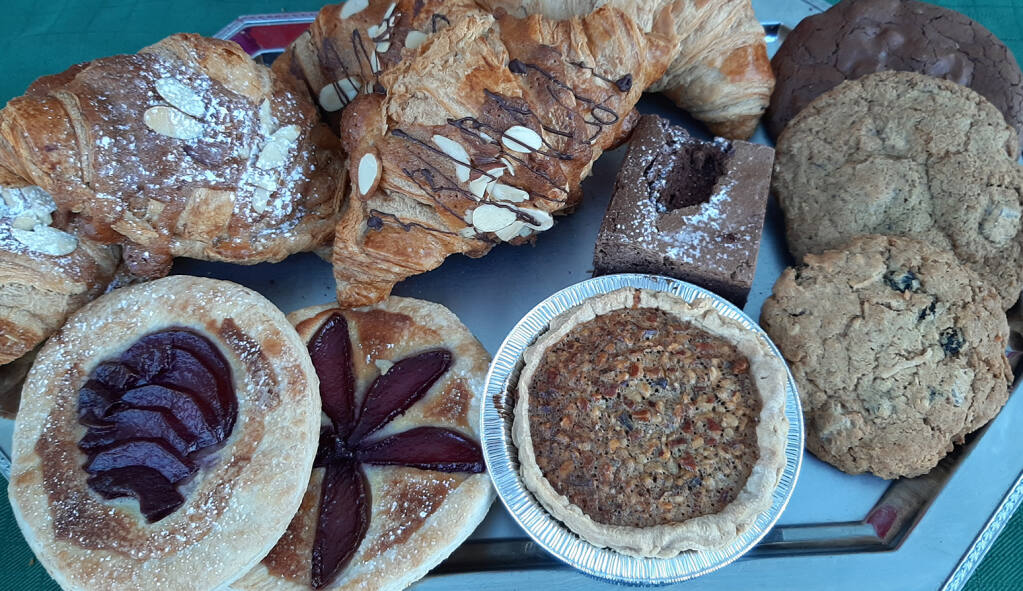 Patisserie Angelica of Sebastopol will sell its pastries and sweets at the Healdsburg Farmers Market on Saturdays, which has been extended through Dec. 19. (Healdsburg Farmers Market)