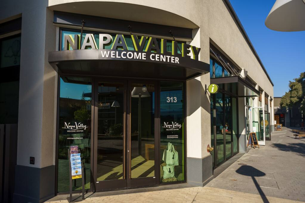 Visit Napa Valley's 2,550-square-foot welcome center opened in November 2020 at its new location at 1300 First St., Suite 313, in downtown Napa. (courtesy of Visit Napa Valley)