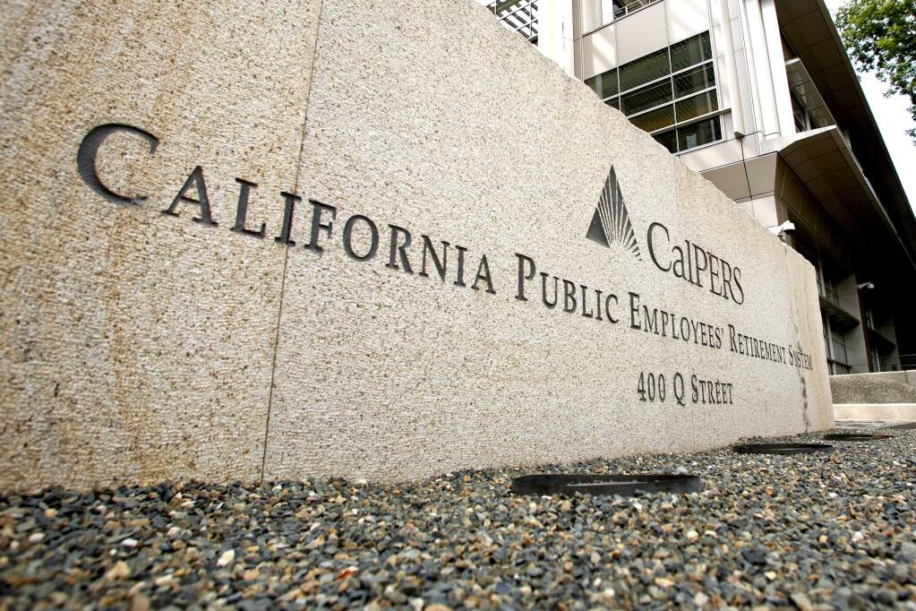 The California Public Retirement System headquarters in Sacramento. (KEN JAMES / Bloomberg)