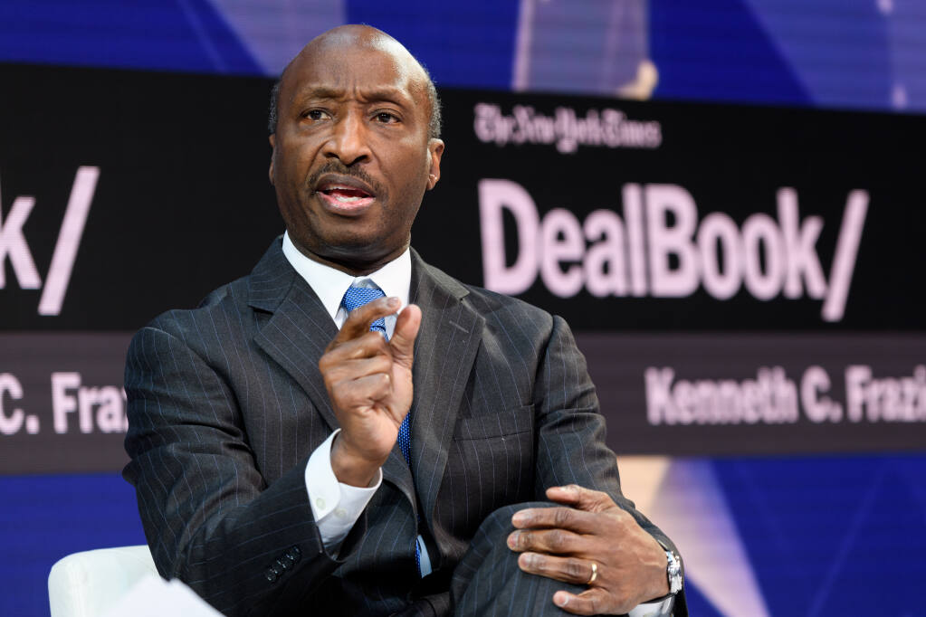 Kenneth Frazier, the chairman and chief executive of Merck, is co-founder of an initiative that seeks to train and promote a million black Americans over the next 10 years. (MIKE COHEN / New York Times)