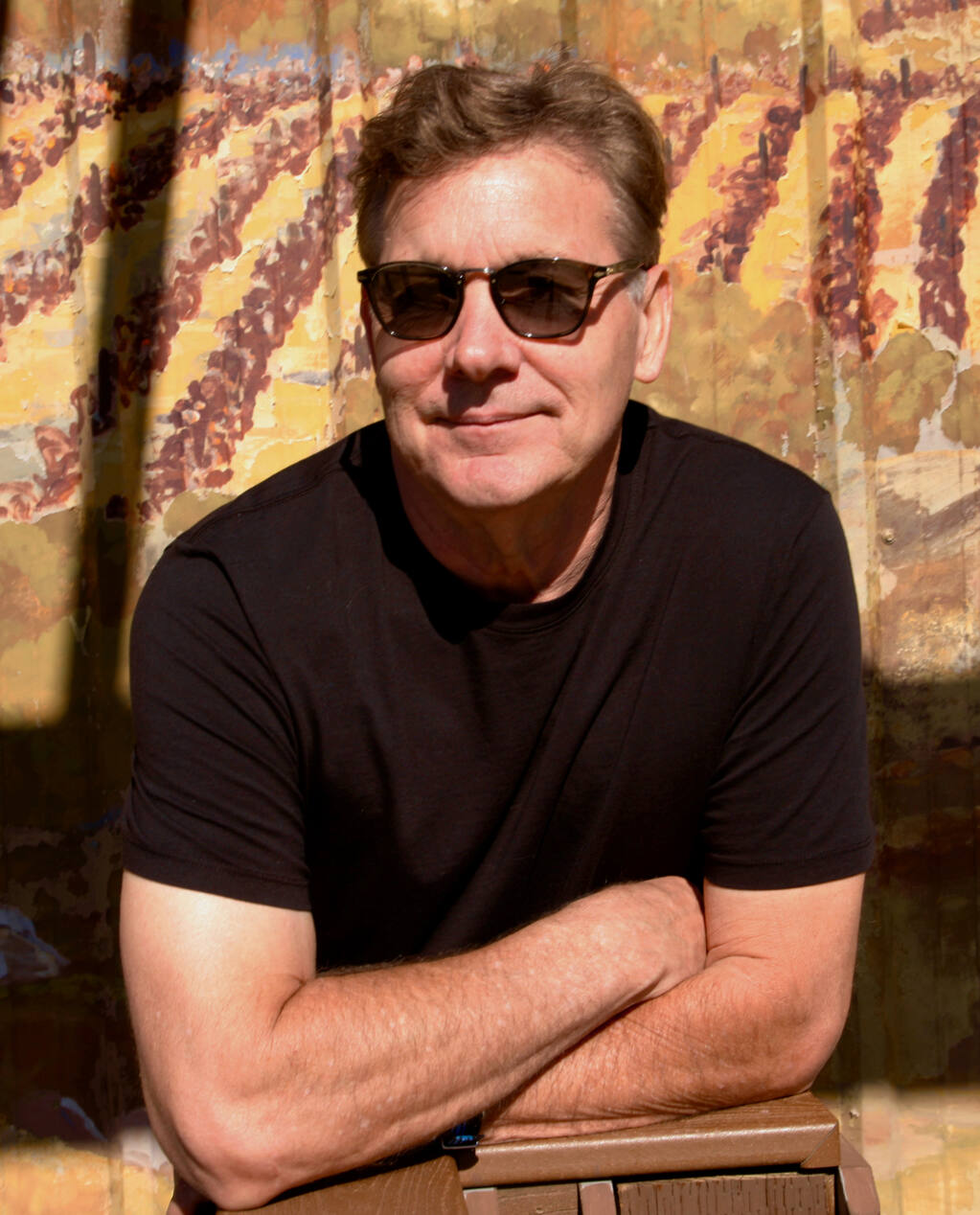 """Rex Pickett, who wrote the original novel """"Sideways,"""" hosted """"A Concert of Songs from 'Sideways: The Musical'"""" Sept. 11-12 at Buena Vista Winery in Sonoma. (Via Regia Productions)"""