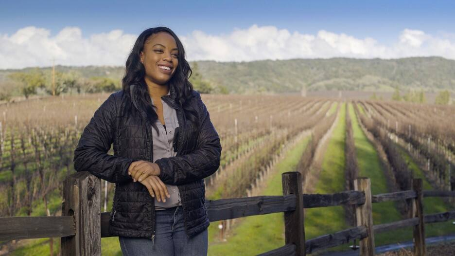 Brenae Royal, vineyard manager of Monte Rosso (courtesy photo)