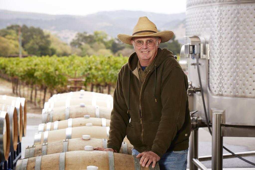 Tom Gamble , vintner and farmer, Gamble Family Vineyards  (Alan Campbell Photography)