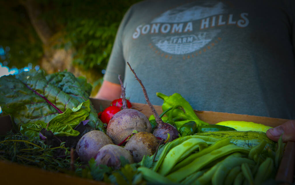 Of Cannabis And Free Restaurant Produce At Sonoma Hills Farm