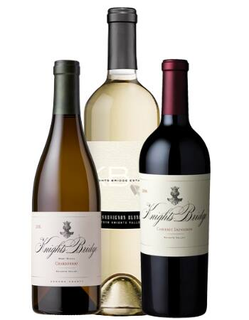 Knights Bridge Winery offers a virtual tasting kit with two half-bottles and a full bottle of wine. (courtesy of Knights Bridge Winery)