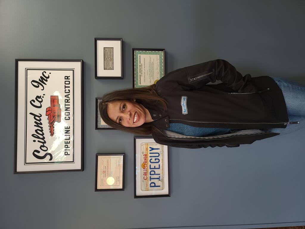 Evelyn Barragan, administrative manager of Soiland Company's Stony Point Rock Quarry, Cotati (courtesy photo)