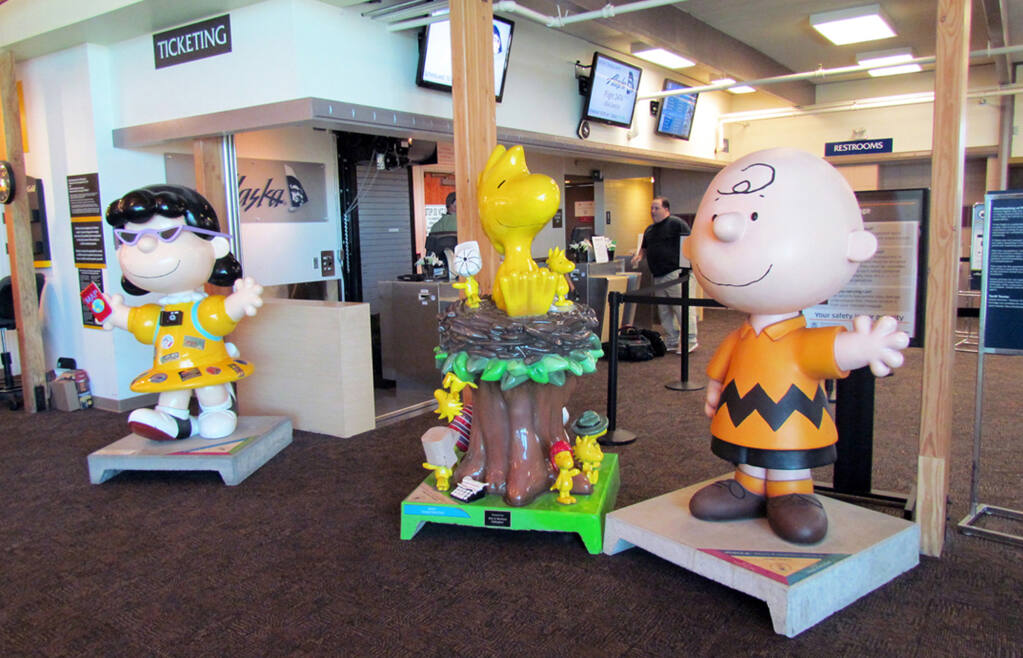The Charles M. Schulz – Sonoma County Airport check in
