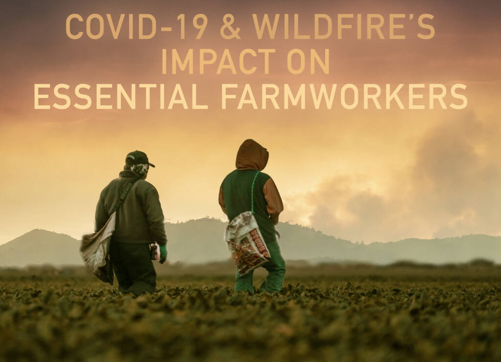 A deepening COVID-19 crisis now surging in most California agricultural counties–puts farmworkers in the pandemic's crosshairs. Wildfires in August only compound the precarious health and safety conditions of farmworkers. (VegetableWest)