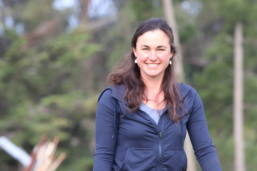 Elizabeth (Libby) Porzig is an ecologist at Point Blue Conservation Science, a Petaluma-based non-profit organization. She leads a team of scientists monitoring California's working rangelands. (LINA HOSHINO/FOR THE ARGUS-COURIER)