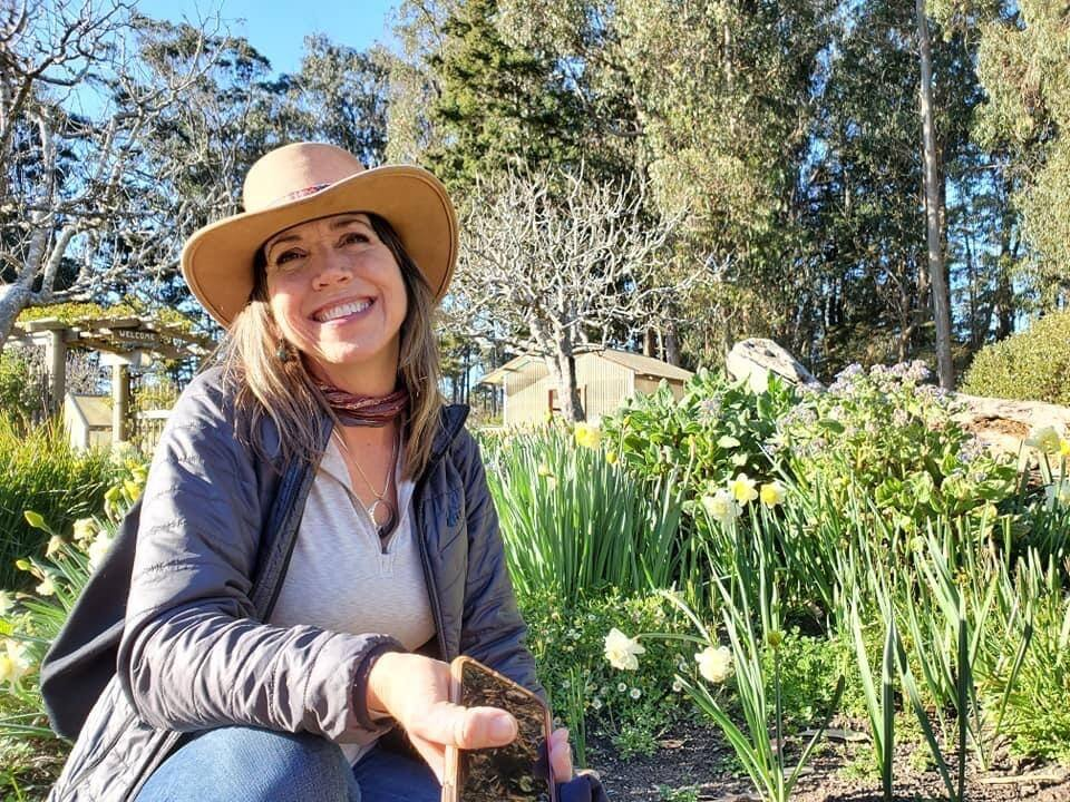 Dawn Smith overcame serious health challenges while building up the early gardens at Cornerstone Sonoma. (Juan De La Cruz)