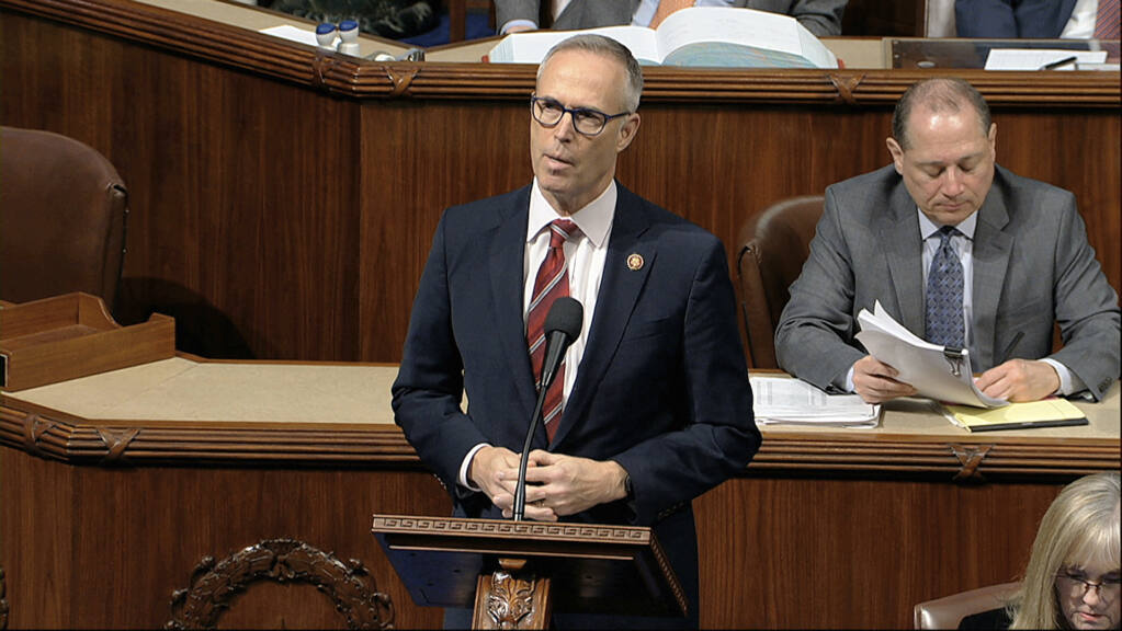 Proposals by Rep. Jared Huffman, including funding for water storage and electric Postal Service vehicles, is included in an infrastructure bill that passed the House this week.