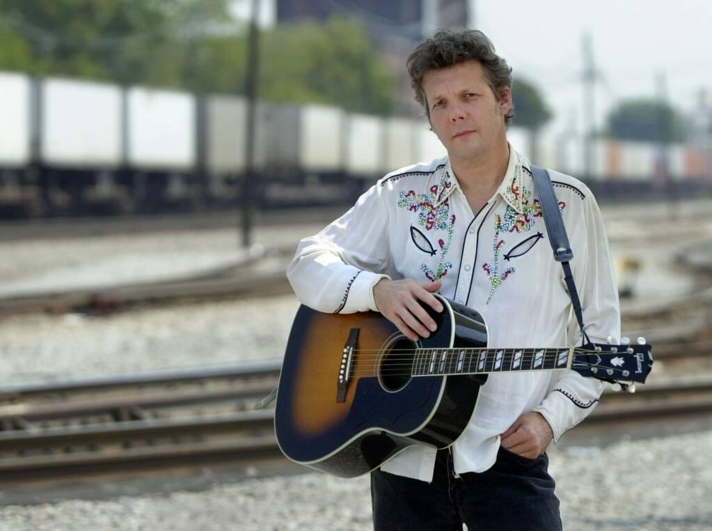 Singer-songwriter Steve Forbert in Nashville, Tennessee in 2002. (AP Photo/Mark Humphrey)